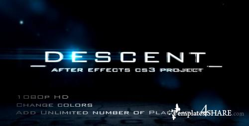 DESCENT - After Effects Project (Videohive)