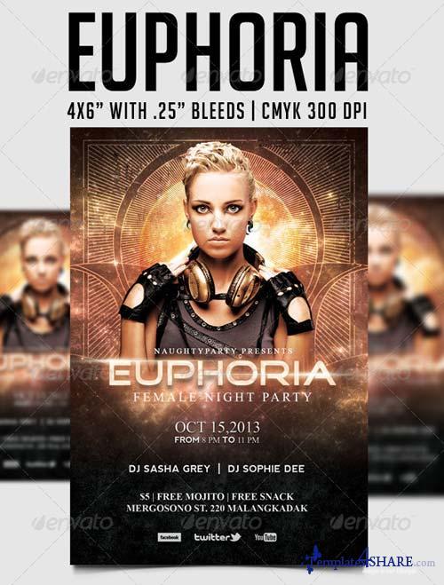 GraphicRiver Euphoria Party Template