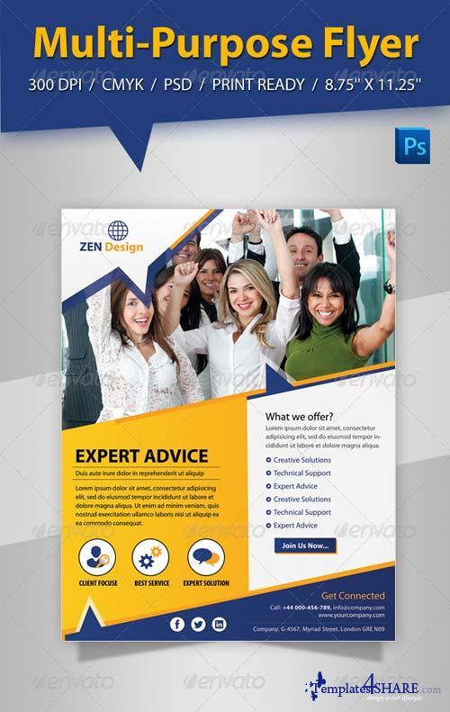 GraphicRiver Multi-Purpose Flyer
