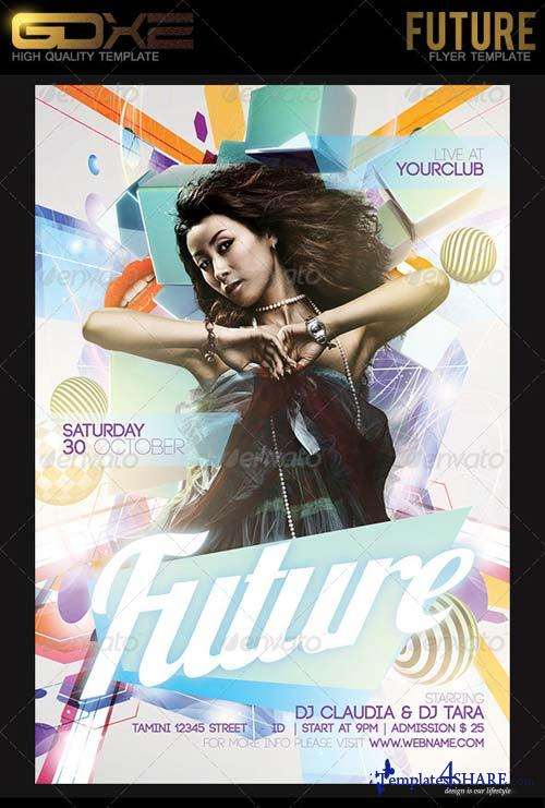 GraphicRiver Future Flyer Template