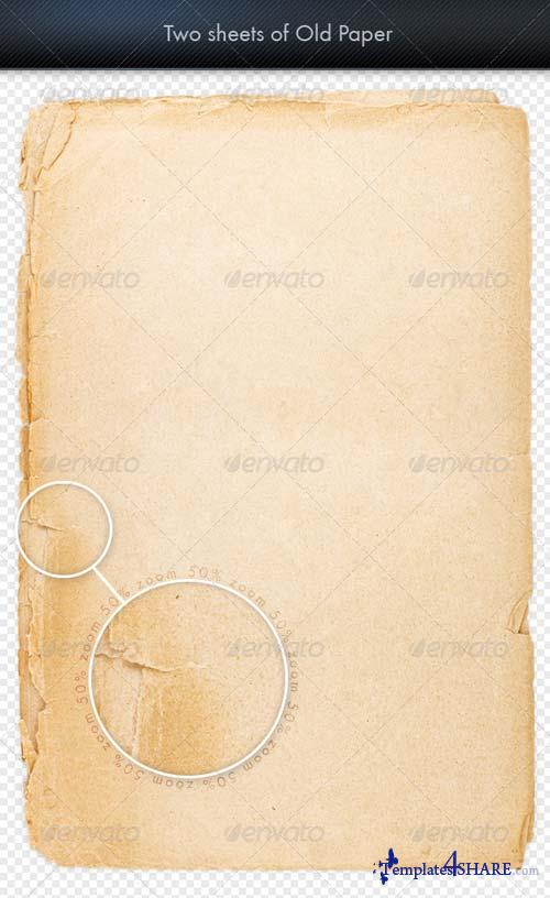 GraphicRiver Sheet of Old Paper