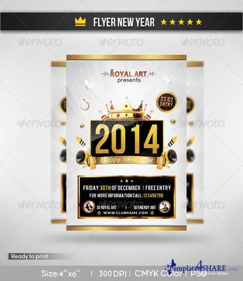 GraphicRiver Flyer New Year