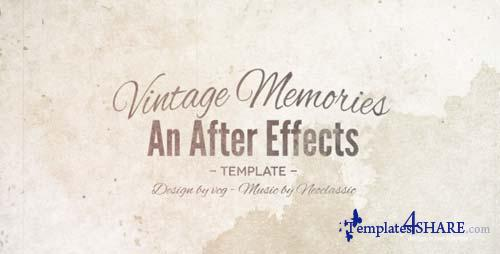 Vintage Memories 5456790 - After Effects Project (Videohive)