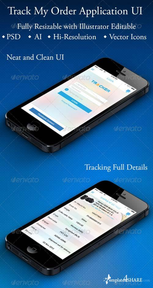 GraphicRiver Track My Order Application