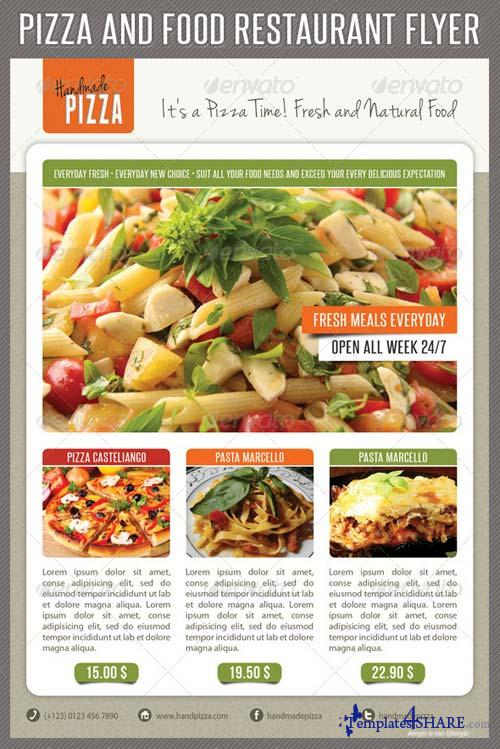 GraphicRiver Food And Pizza Menu Flyer 05