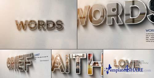 Words - After Effects Project (Videohive)
