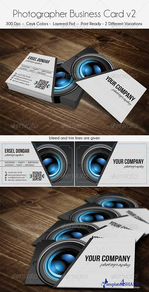 GraphicRiver Photographer Business Card v2