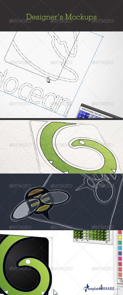 GraphicRiver Designers Mockups