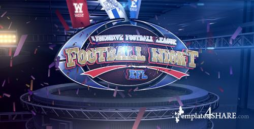 Football Night V.2 - After Effects Project (Videohive)