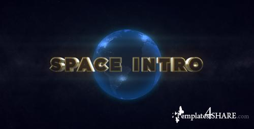 Space Intro - Element 3D - After Effects Project (Videohive)