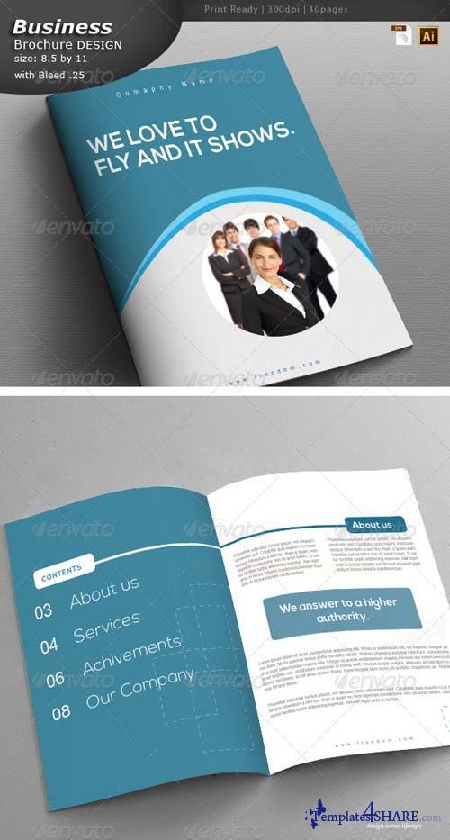 GraphicRiver Services Brochure Design