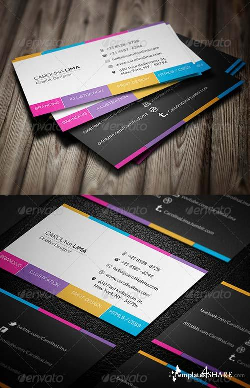 GraphicRiver Creative Business Card 033