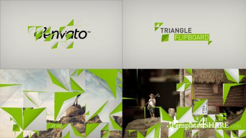 Triangle Flipboard - After Effects Project (Videohive)