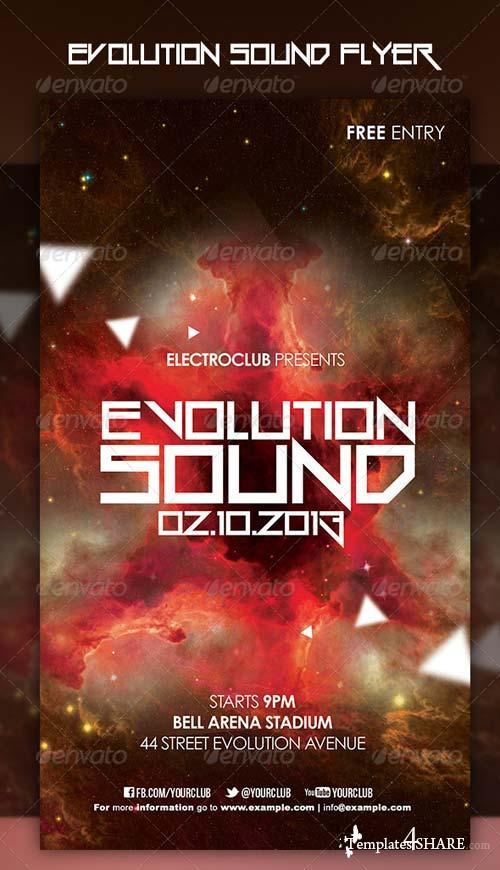 GraphicRiver Evolution Sound Flyer