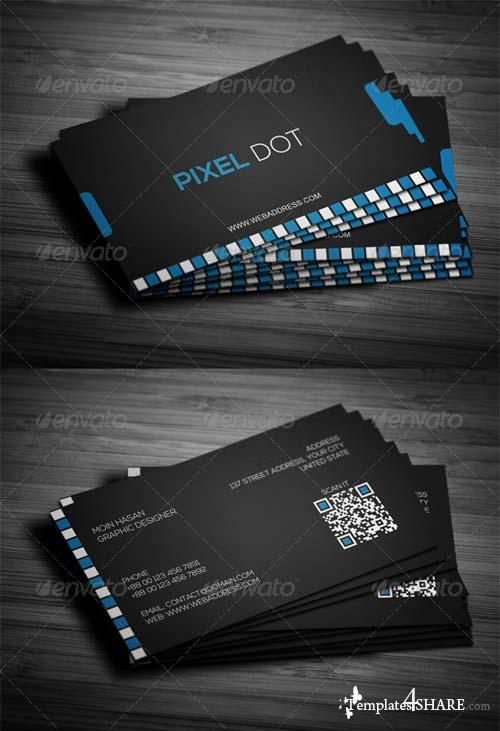 GraphicRiver Corporate Business Card Design 08