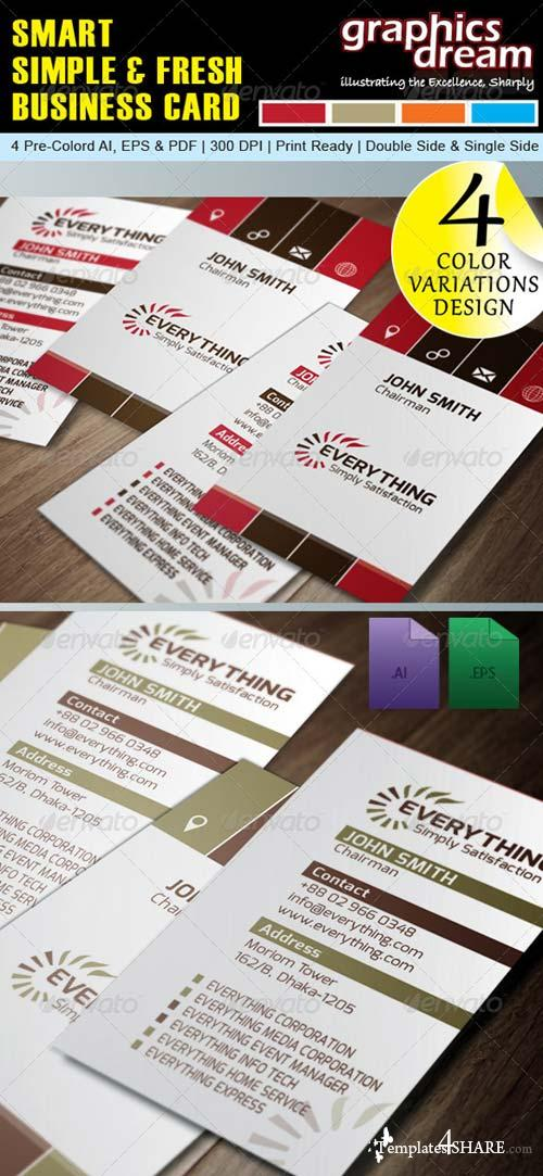 GraphicRiver Corporate Business Card 001