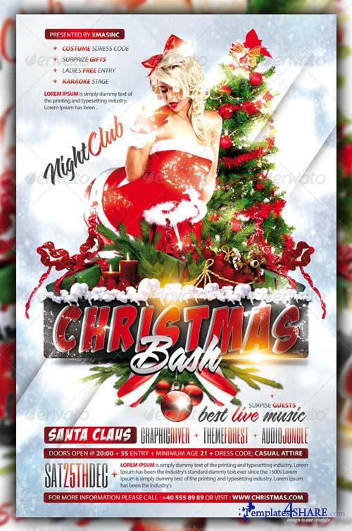 GraphicRiver Christmas / Xmas Bash / Party Flyer / Poster