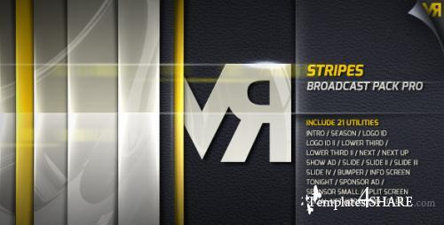 Stripes - Broadcast Pack Pro - After Effects Project (Videohive)
