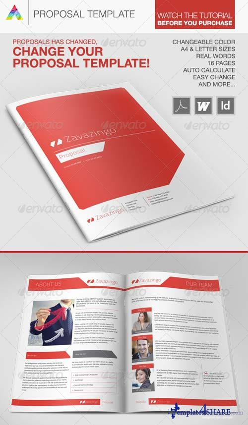 GraphicRiver Proposal Template