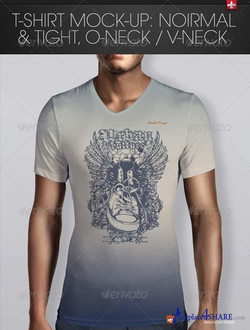 GraphicRiver T-Shirt Mock-up 6119630