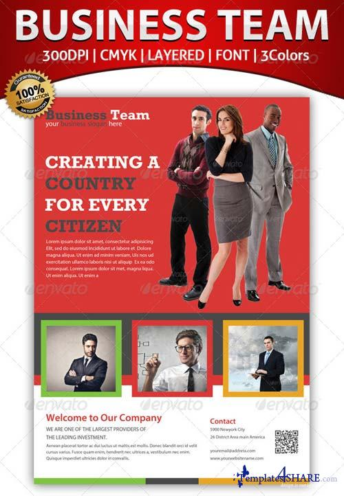 GraphicRiver Business Corporate Flyer Template