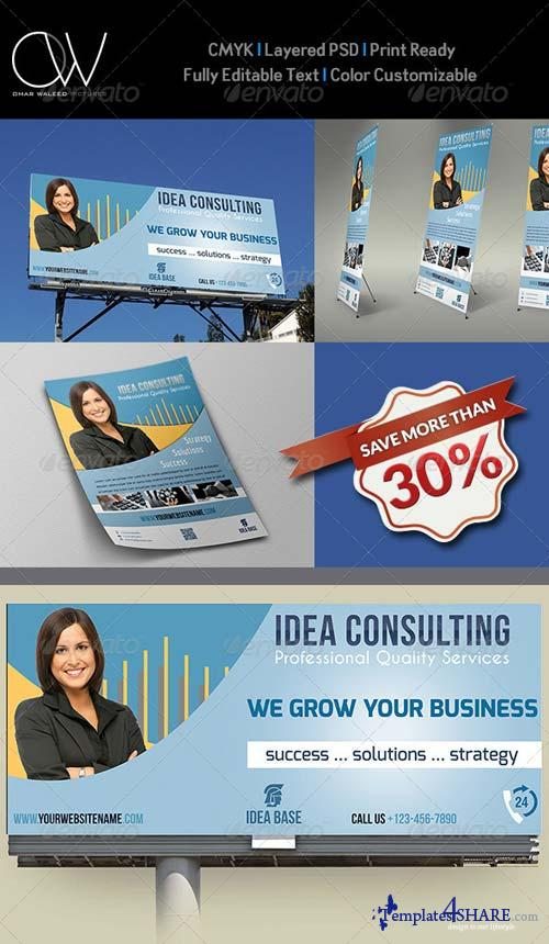 GraphicRiver Corporate Advertising Bundle