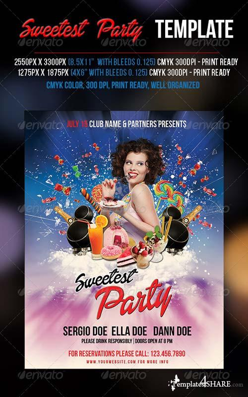 GraphicRiver Sweetest Party