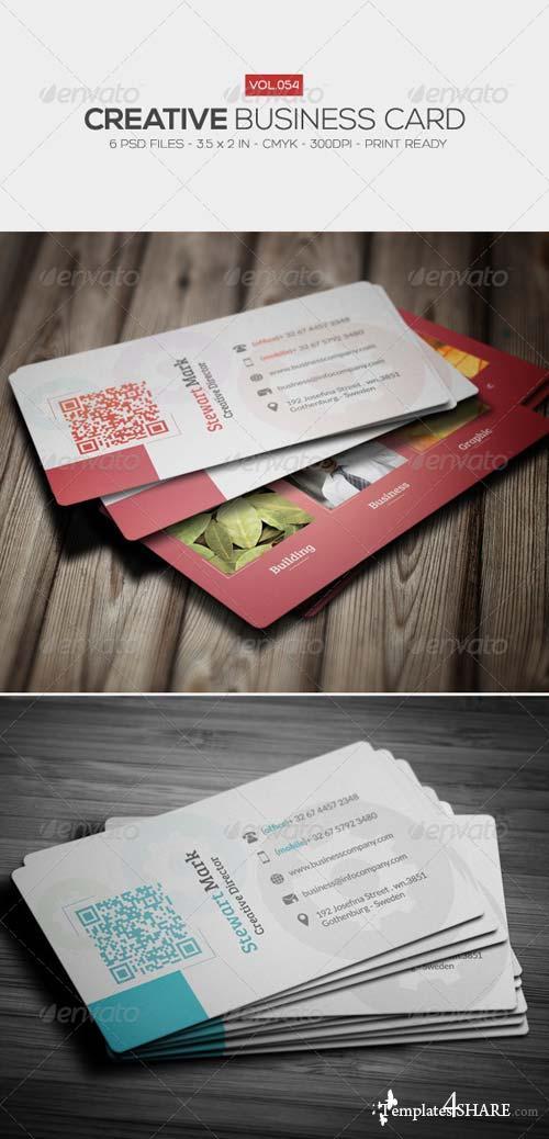 GraphicRiver Creative Business Card 054
