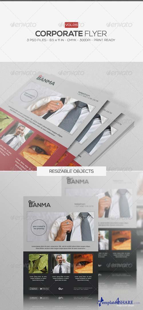 GraphicRiver Corporate Flyer Vol.15