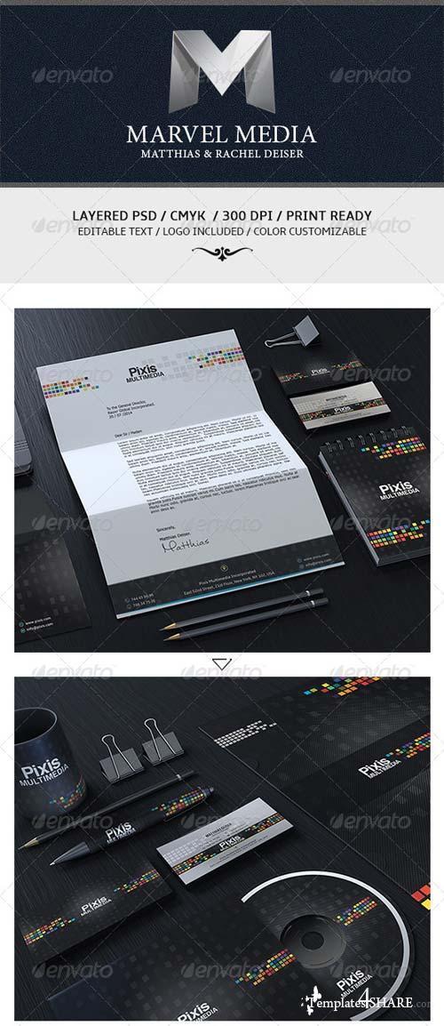 GraphicRiver Modern Creative Corporate Identity