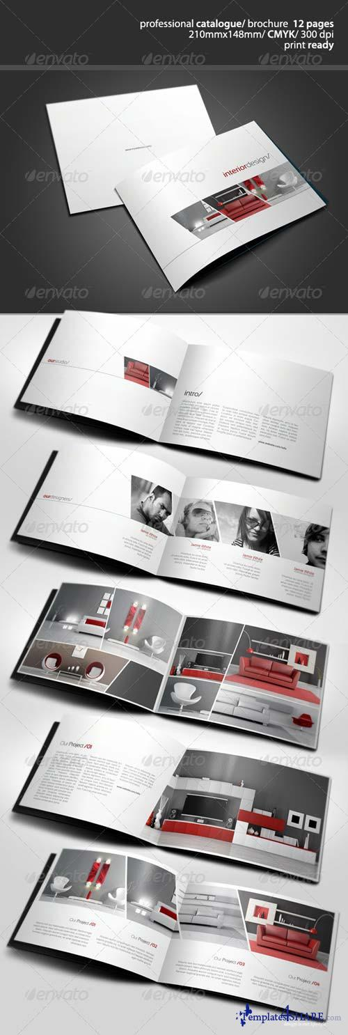 GraphicRiver Clean A5 Catalogue