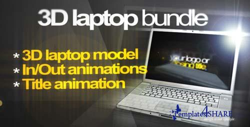 3D Laptop animation bundle - After Effects Project (Videohive)