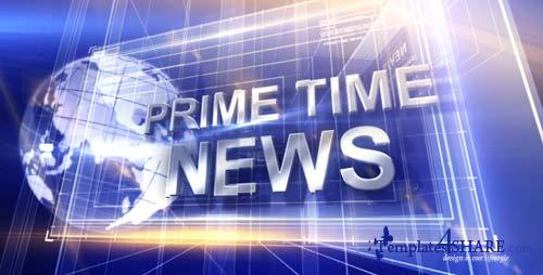 Broadcast Design - Primetime News Open - After Effects Project (Videohive)