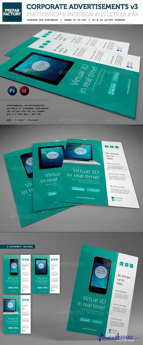 GraphicRiver Corporate App Flyer / Advertisement / Multipurpose