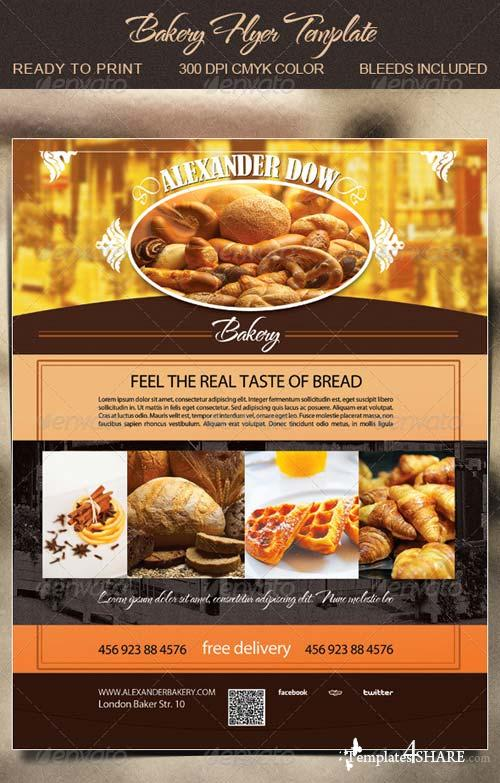 GraphicRiver Bakery Flyer Template