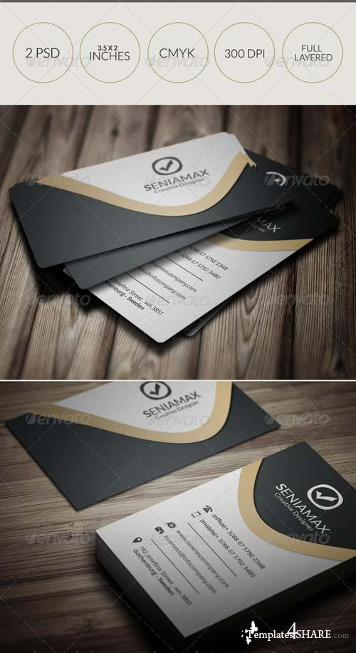 GraphicRiver Creative Business Card 049
