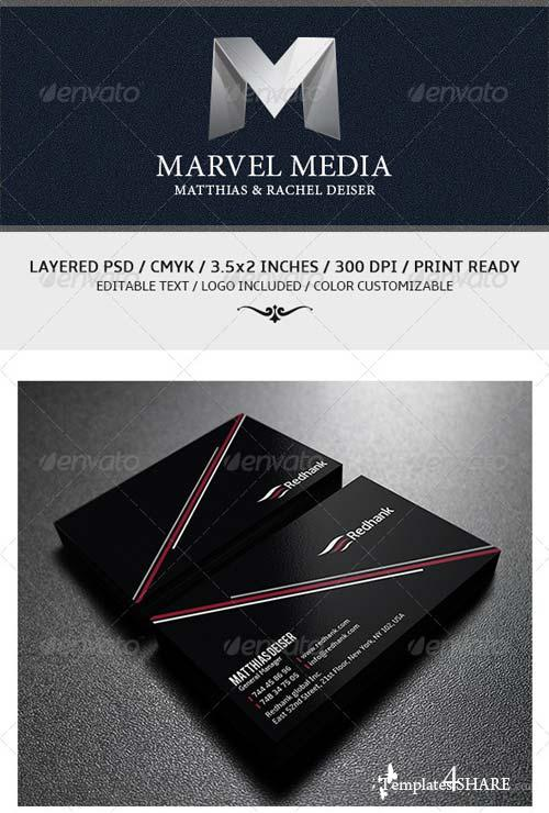 GraphicRiver Creative Minimalist Business Card