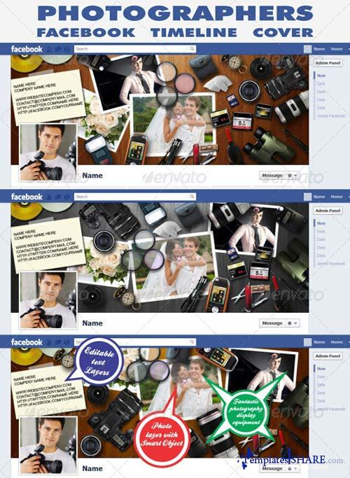 GraphicRiver Photographers Facebook Timeline Cover