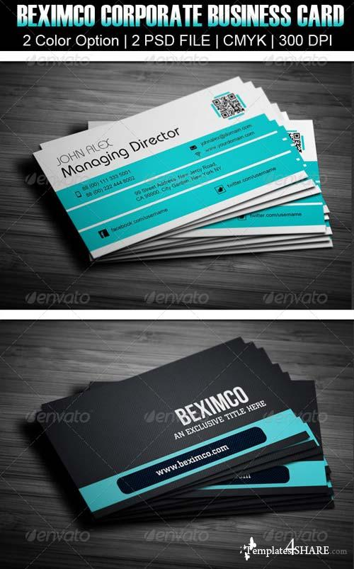 GraphicRiver Beximco Corporate Business Card Design