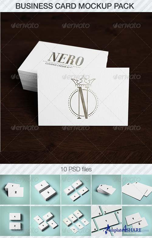 GraphicRiver Business Card Mockup Pack