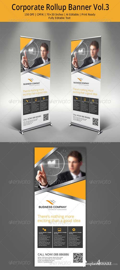 GraphicRiver Corporate Rollup Banner - 3