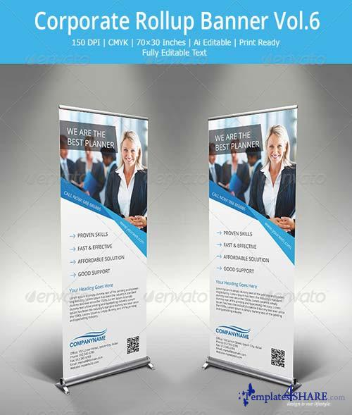 GraphicRiver Corporate Roll-up banner - 6