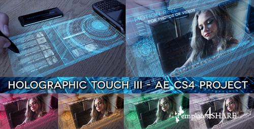 Holographic Touch III - After Effects Project (Videohive)