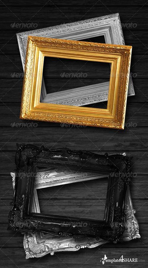 GraphicRiver Antique Picture Frame