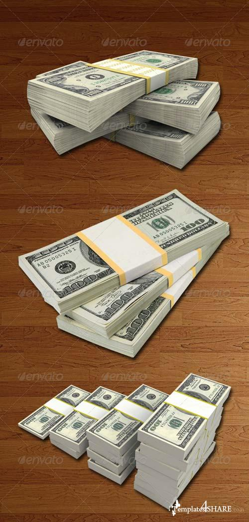 GraphicRiver Money Packs Hi-Res