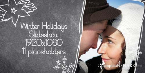 Winter Holidays Slideshow - After Effects Project (Videohive)