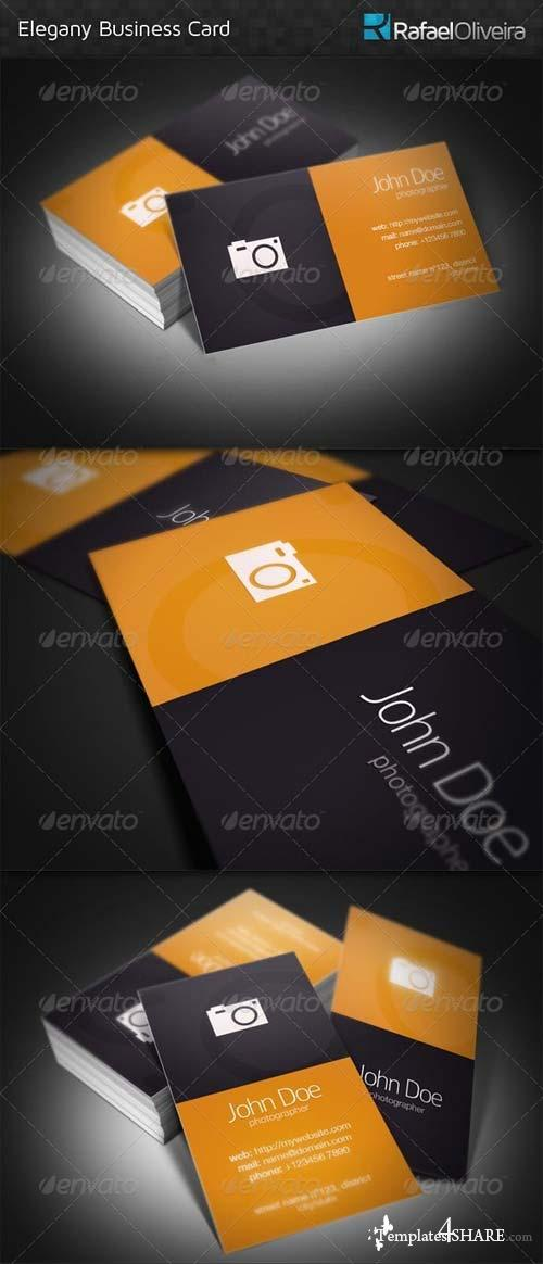 GraphicRiver Elegany Business Card
