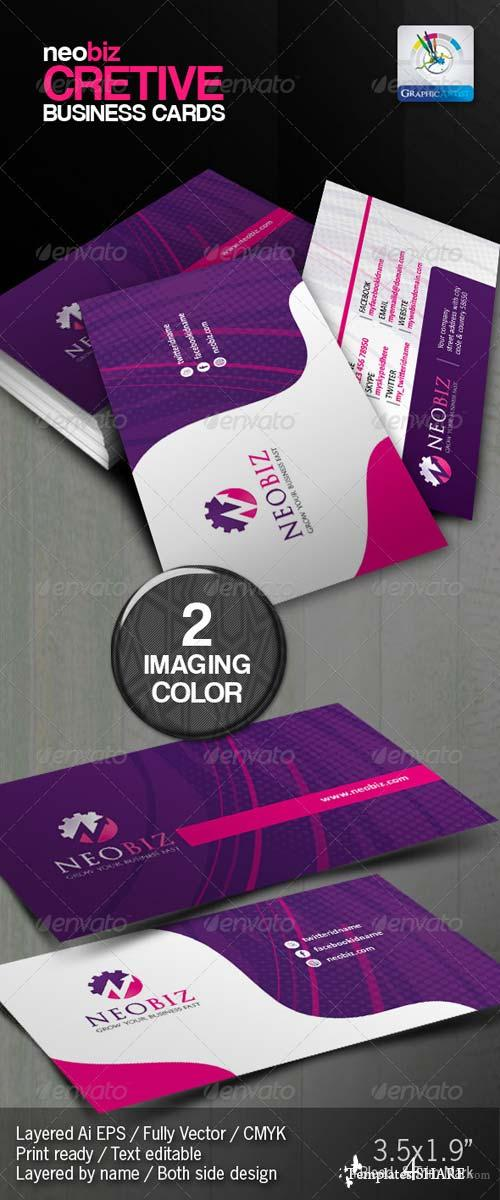GraphicRiver NeoBiz Creative Business Card