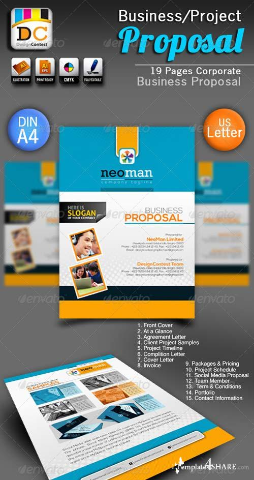 GraphicRiver NeoMan Business/Project Proposal