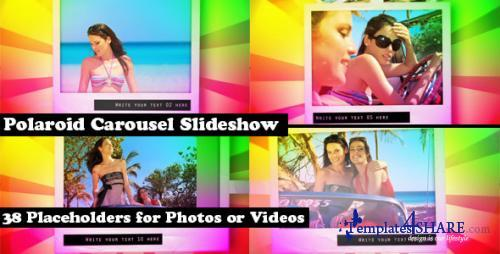 Polaroid Carousel Slideshow for Pictures and Video - After Effects Project (Videohive)